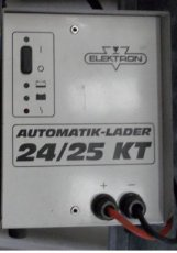 Electron - Accu lader 24-25 KT